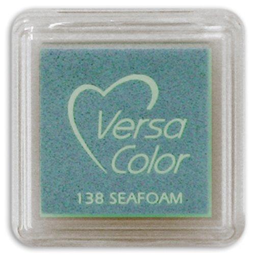 Tsukineko Small-Size VersaColor Ultimate Pigment Inkpad, Seafoam (Versacolor Cubes)