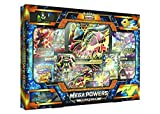 Pokemon TCG: Mega Powers Collection Plus Bonus GIFT (Ace's Metallic Premium Card Sleeves )