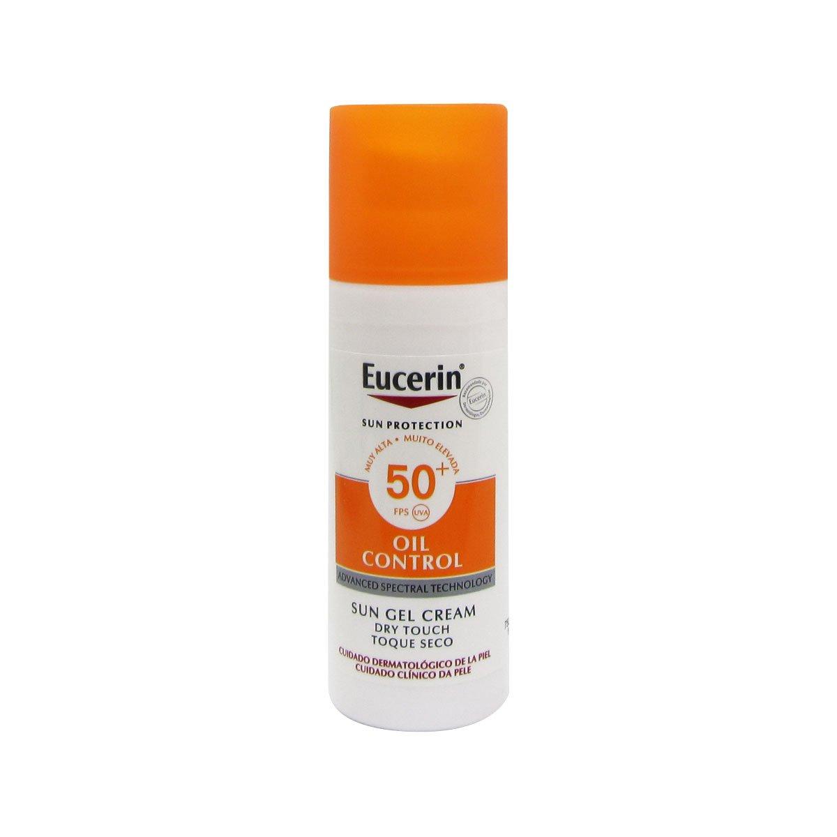 Eucerin Sun Face Oil Control Gel-cream Spf50 50ml 3188919