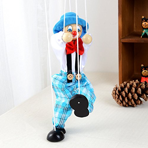 1Pc-Pull-String-Puppet-Wooden-Marionette-Joint-Activity-Doll-Clown-Kids-Toy