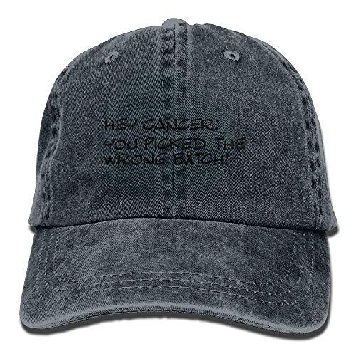 Cancer Cowboy Cowgirl You for Hey Hats Picked DEFFWB Skull Men Hat Denim Sport Cap Women q8ESxTaw