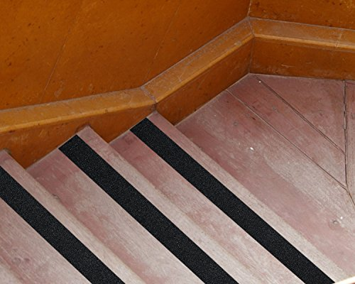 Anti Slip Tape - 2 Inch x 30 Foot High Traction Grip Tape 60 Grit for Stairs Indoor Outdoor (Black) by Cheerybond (Image #5)