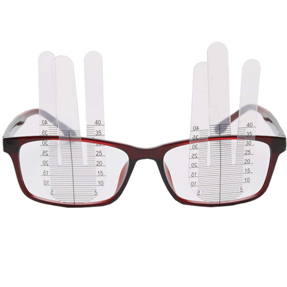 Huanyu PH Ruler Pupil Height Measuring Ruler 2 Pieces ABS Lens Small Light Altimeter by Huanyu