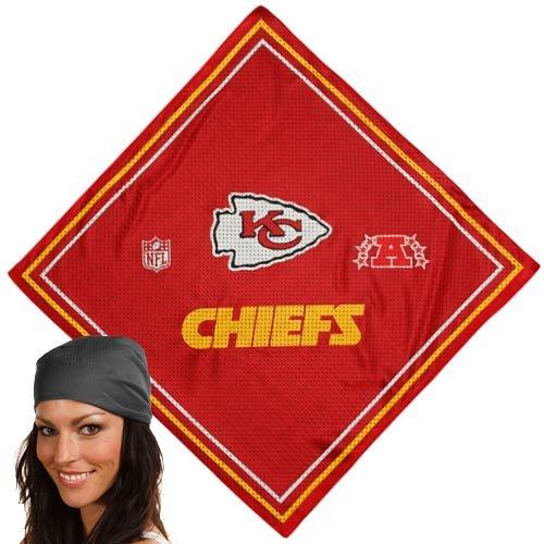 Kansas City Chiefs Red Jersey Bandana ()
