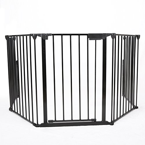 Baby Safety Fence Hearth Gate BBQ Metal Fire Gate Fireplace Pet Dog Cat - Premium Bay Area Outlets