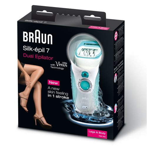 braun 7891 silk epil 7 wet and dry epilator braun beautil. Black Bedroom Furniture Sets. Home Design Ideas