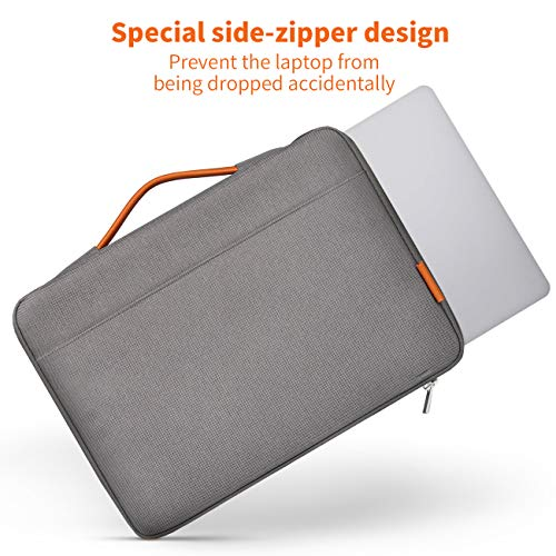 Inateck 13-13.3 Inch Laptop Case Sleeve Bag Compatible 13 Inch MacBook Air 2010-2020/MacBook Pro Retina 2012-2015, 2020/2019/2018/2017/2016, Surface Pro 3/4/5/6/7/X, Surface Laptop 2017/2/3 - Pink