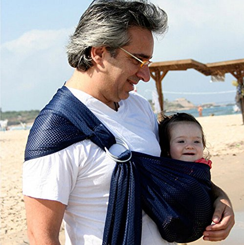 Mcupper-Breathable Baby Carrier with Polyester and Quickdry