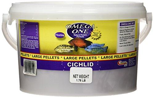 Omega One Large Floating Cichlid Pellets 1.75-Lb.