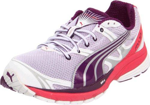 Puma Women's Complete SLX Ryjin J Running Shoe White/Gloxinia/Teaberry Red EpbgKA64