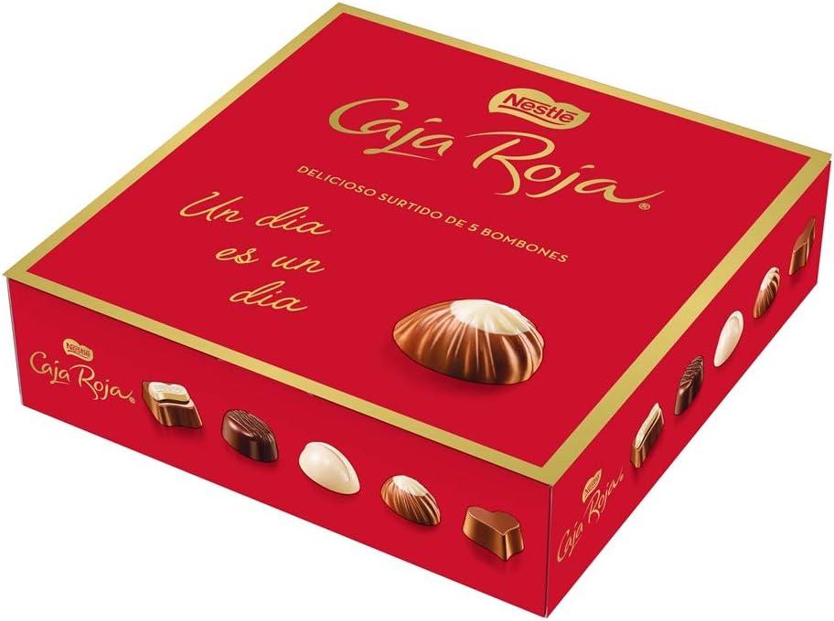 Nestlé Caja Roja bombones de chocolate - Pack de 6 x 45g: Amazon.es: Alimentación y bebidas