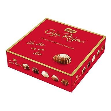 Nestlé Caja Roja Bombones de Chocolate, Estuche de bombones ...