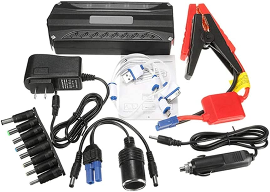 Fesjoy 68800mAH 12V USB Car Jump Starter Power Booster Cargador Hogar Cars Kit de mantenimiento portátil