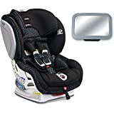 Britax Advocate ClickTight ARB Cool Flow Collection Convertible Car Seat with Back Seat Mirror – Gray