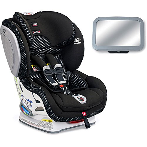 Britax Advocate ClickTight ARB Cool Flow Collection Convertible Car Seat with Back Seat Mirror - Gray