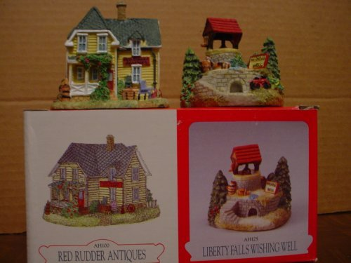 Liberty Falls Red Rudder Antiques & LIberty Falls Wishing Well