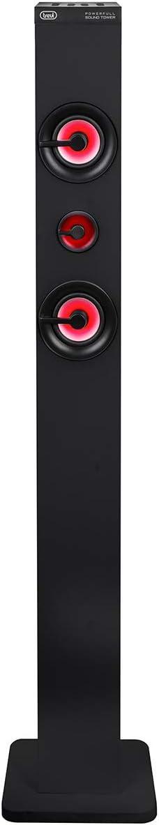 Trevi Xt 101 Bt Soundtower Lautsprecher Turm Mit Bluetooth Mp3 Usb Sd Aux In Schwarz Audio Hifi