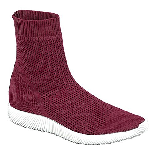 Women's High-Top Sock-Fit Comfort fashion Sneakers