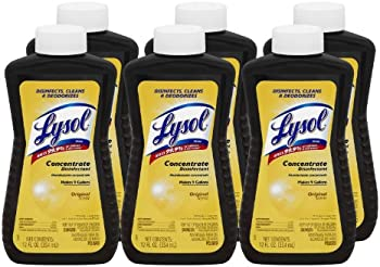 6-Pack Lysol Brand Concentrate Disinfectant