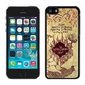 Harry Potter Marauders Map Iphone 5c Case Black Cover