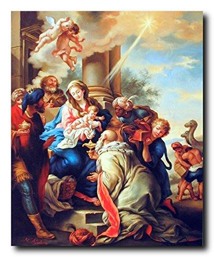 - Mary with Child Ruben Religious Christian Wall Decor Art Print Poster (16x20)