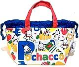 Pochacco Cotton Drawstring Tote Bag Purse Snack Lunch Box Bento Case Small