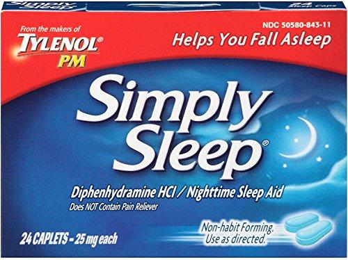 Simply Sleep Caplets 24 ea (6 -