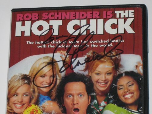 Rob Schneider Autographed The Hot Chick DVD (JSA COA)