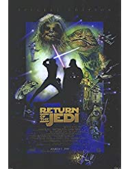 "Star Wars: Episode VI - Return of the Jedi - Authentic Original 27"" x 40"" Movie Poster"