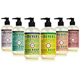 Beauty : Mrs. Meyers Clean Day Liquid Hand Soap 6 Scent Variety Pack, 12.5 oz Each