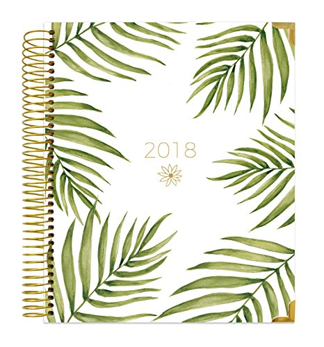 December Planner (bloom daily planners 2018 Calendar Year Hard Cover Vision Planner - Monthly and Weekly Column View Agenda Organizer - January 2018 - December 2018 - (7.5