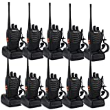Compra Retevis H-777 Two-Way Radio Long Range UHF 400-470MHz Signal Frequency Single Band 16 CH Walkie Talkies with Original Earpiece (10 Pack) en Usame