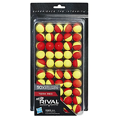 Nerf C3907 Rival Refill, yellow-red, 50 Count (Pack of 1)
