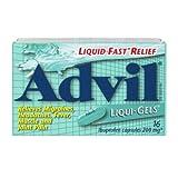 Advil Liqui-Gels, Pain reliever / Fever reducer, 16 Ibuprofen capsules 200mg