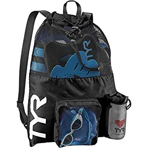 Big Mesh Mummy Backpack for Wet Swimming, Gym, and Workout Gear