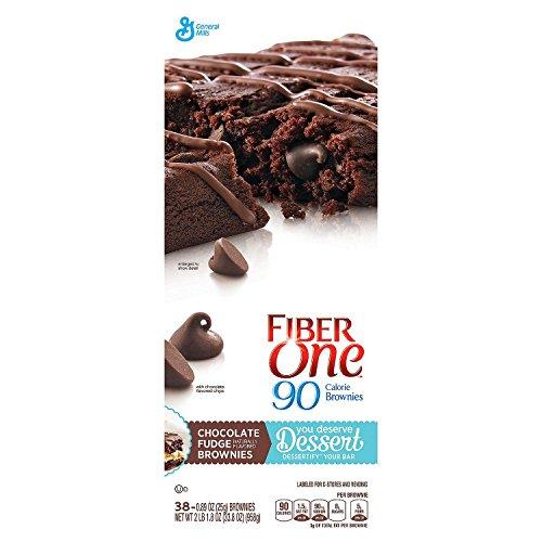 Fiber One 90 Calorie Chocolate Fudge Brownies (0.89 oz., 38 ct.)