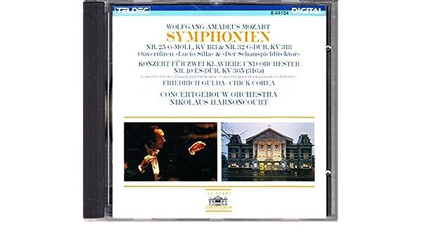 Friedrich Gulda, Chick Corea, Wolfgang Amadeus Mozart, Nikolaus Harnoncourt, Concertgebouw Orchestra Amsterdam - Mozart: Symphony No.