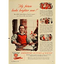 1949 Ad Employers Mutuals of Wausau Insurance Company - Original Print Ad