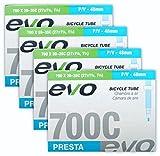 EVO Bike Tube Bundle 700x28-32c 48mm Presta RVC - FOUR (4) PACK