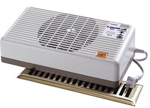 Suncourt Equalizer EQ2 Register Booster, Improve Heating and Air Conditioning Efforts (Best Place For Central Heating Thermostat)