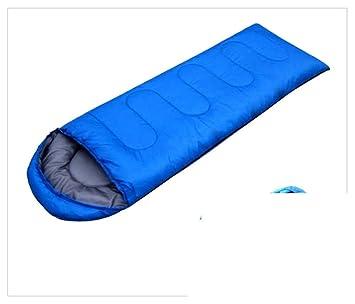 Adultos al aire libre bolsas de dormir/ saco mi almuerzo/Camping espesados frío calientes sacos de dormir-C: Amazon.es: Deportes y aire libre