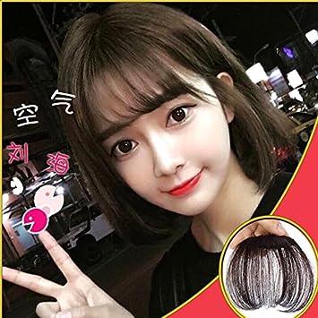 Amazon.com : Korean bangs wig piece invisible