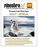 8.5'' X 11'' 100 Sheets Premium Luster Inkjet Photo Paper [Office Product]