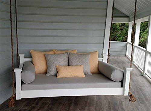 Custom Carolina Southern Savannah Porch Swing, Twin, Black