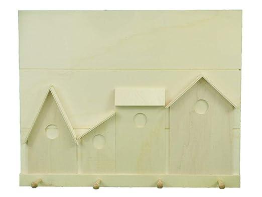 Perchero madera para pintar. Medidas:54 * 43 cms. En madera ...