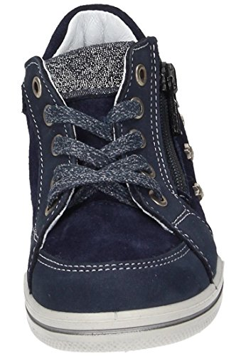Ricosta Mädchen Penny Hohe Sneaker Blau (Nautic)