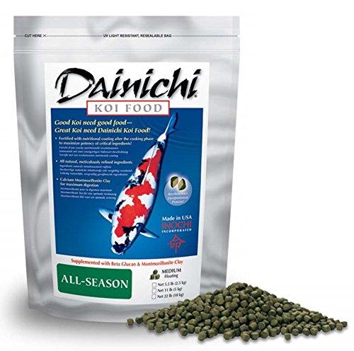 Picture of Dainichi KOI - ALL-SEASON (1.1 lb) Bag - Small Pellet