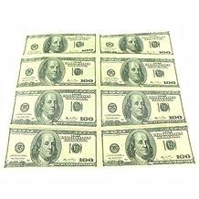 PINZANinF Dollar Money Central Napkins