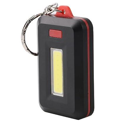 Lixada Mini Linterna LED Llavero Luz de Flash Pequeña Lámpara Antorcha Luz de Emergencia
