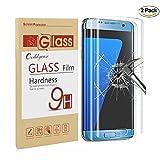 Galaxy S7 Edge Screen Protector,Galaxy S7 Edge Tempered Glass,Coddycase Galaxy S7 Edge Full Coverage HD Clear Tempered Glass Screen Protector for Samsung Galaxy S7 Edge,2 Pack